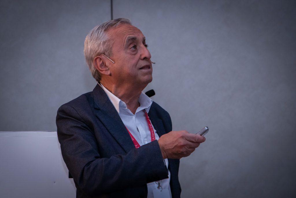 Pedro Cahn en el Simposio Científico de Fundación Huésped 2019