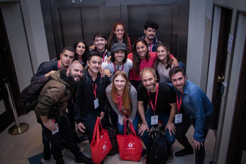 Sensibilizadores en el Simposio Científico de Fundación Huésped 2019.