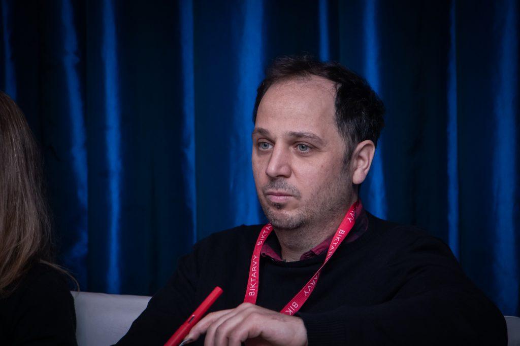 Ariel Sánchez en el Simposio Científico de Fundación Huésped 2019