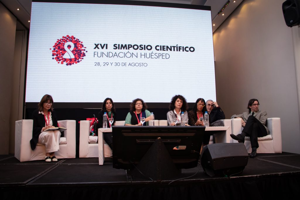 Carla Vizzotti, Alexandra Compagnucci, Lautaro de Vedia, Romina Mauas, Susana Lloveras y Javier Afeltra