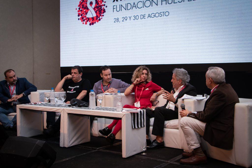 Ignacio Maglio, Javier Hourcade Bellocq, Vincent Pelletetier, Sergio Martini, María Belén Bouzas y Pedro Cahn