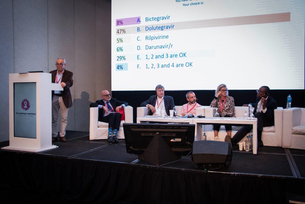 Marta Boffito, Babafemi Taiwo, Roberto Arduino, Omar Sued, Charles Hicks y Pedro Cahn