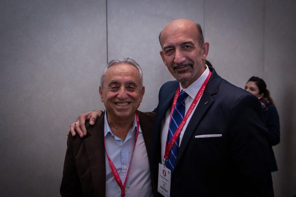 Mario Stevenson y Pedro Cahn