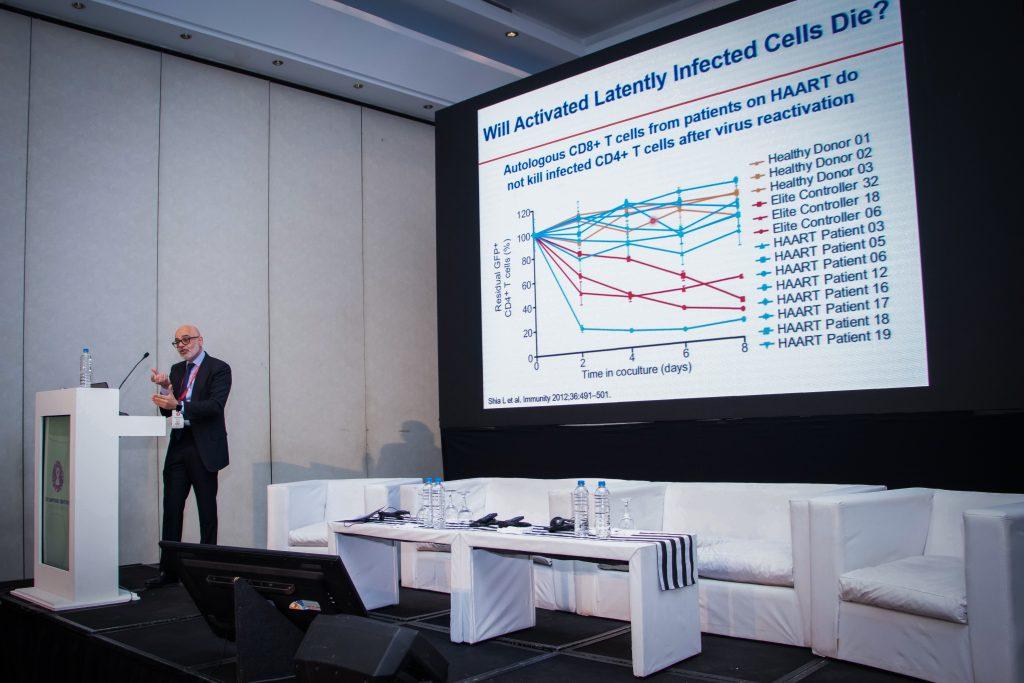 Dr. Roberto Arduino en el Simposio Científico Fundación Huésped 2019