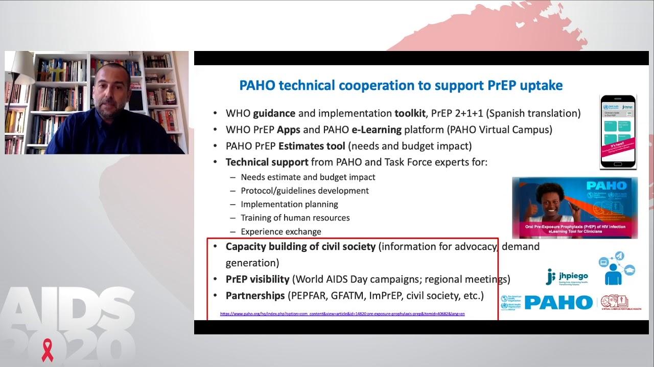 Sostenimiento de los programas de PrEP durante la pandemia - Giovanni Ravasi