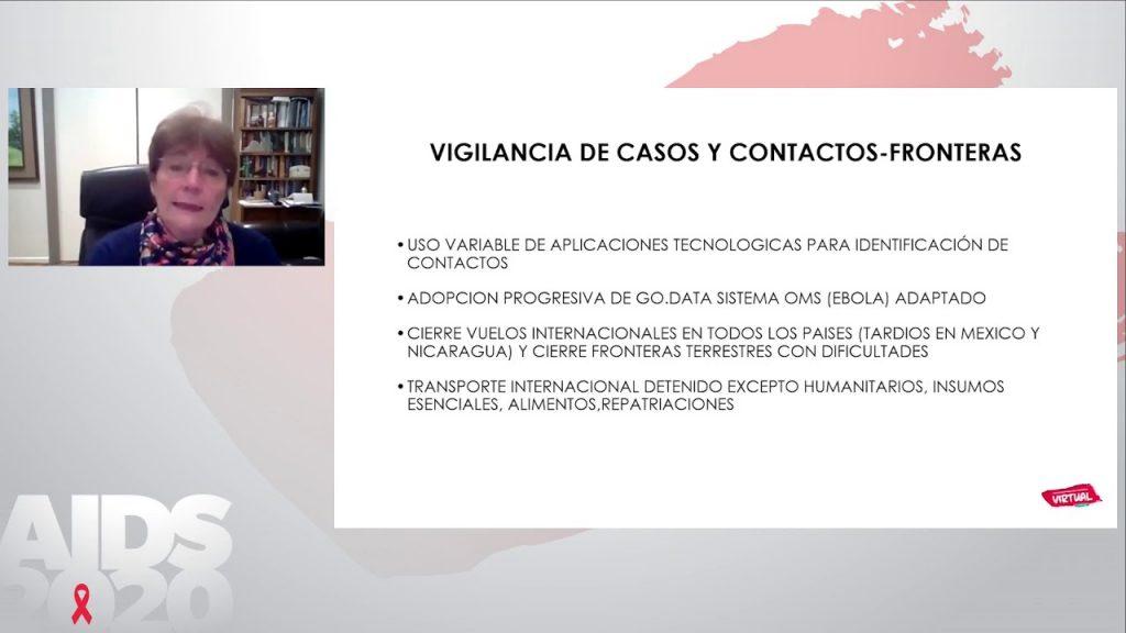 Coronavirus em Latinoamérica - Mirta Roses