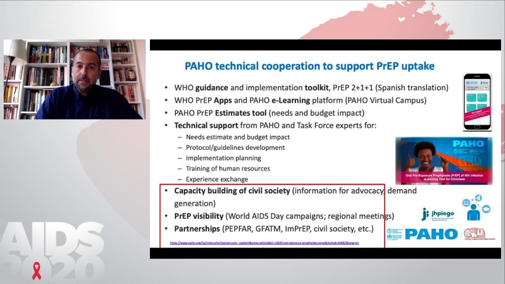 Sustentação dos programas de PrEp durante a pandemia - Giovanni Ravasi